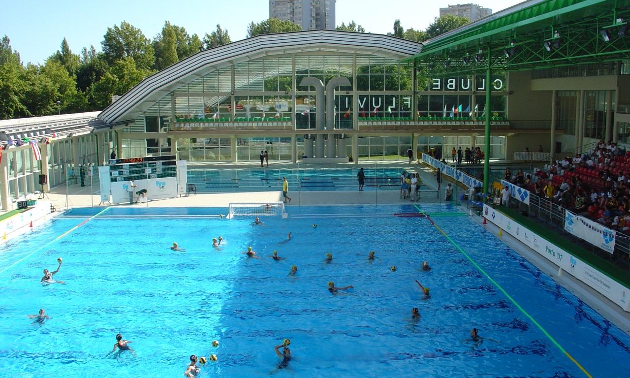 Resultado de imagen de piscina fluvial portuense